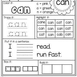 Easter Science Worksheets