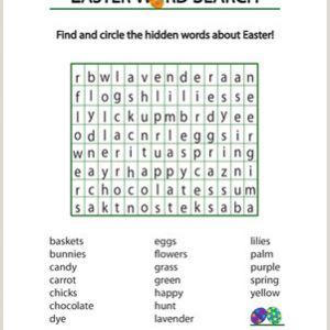 Easter Story Worksheets Printable