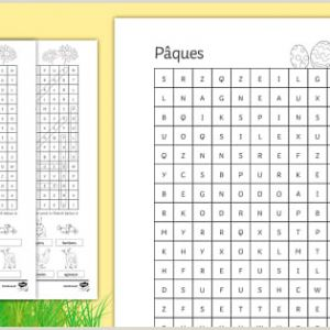 Easter Week Worksheets