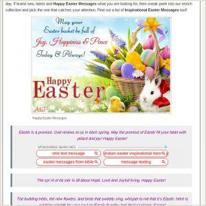 Easter Week Worksheets