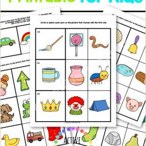 Easter Worksheet for Preschool