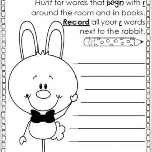 Easter Worksheets Activities