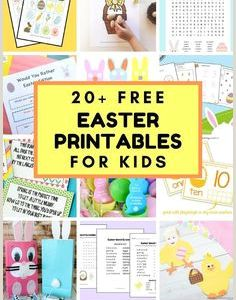 Easter Worksheets Advanced
