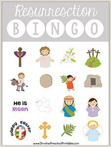 Easter Worksheets Bible