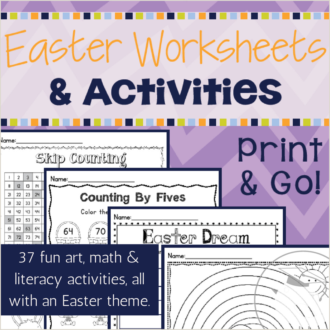 Easter Worksheets Christian