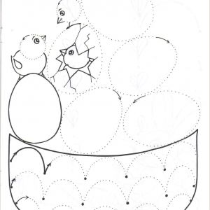 Easter Worksheets Cut and Paste