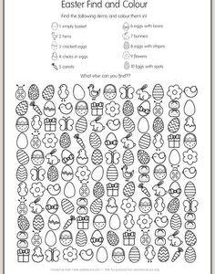 Easter Worksheets English