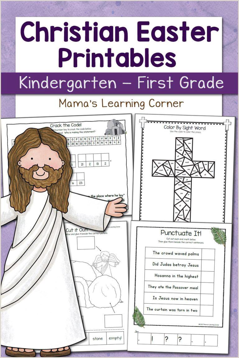Easter Worksheets For 1st Grade