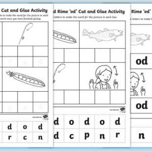 Easter Worksheets for First Graders