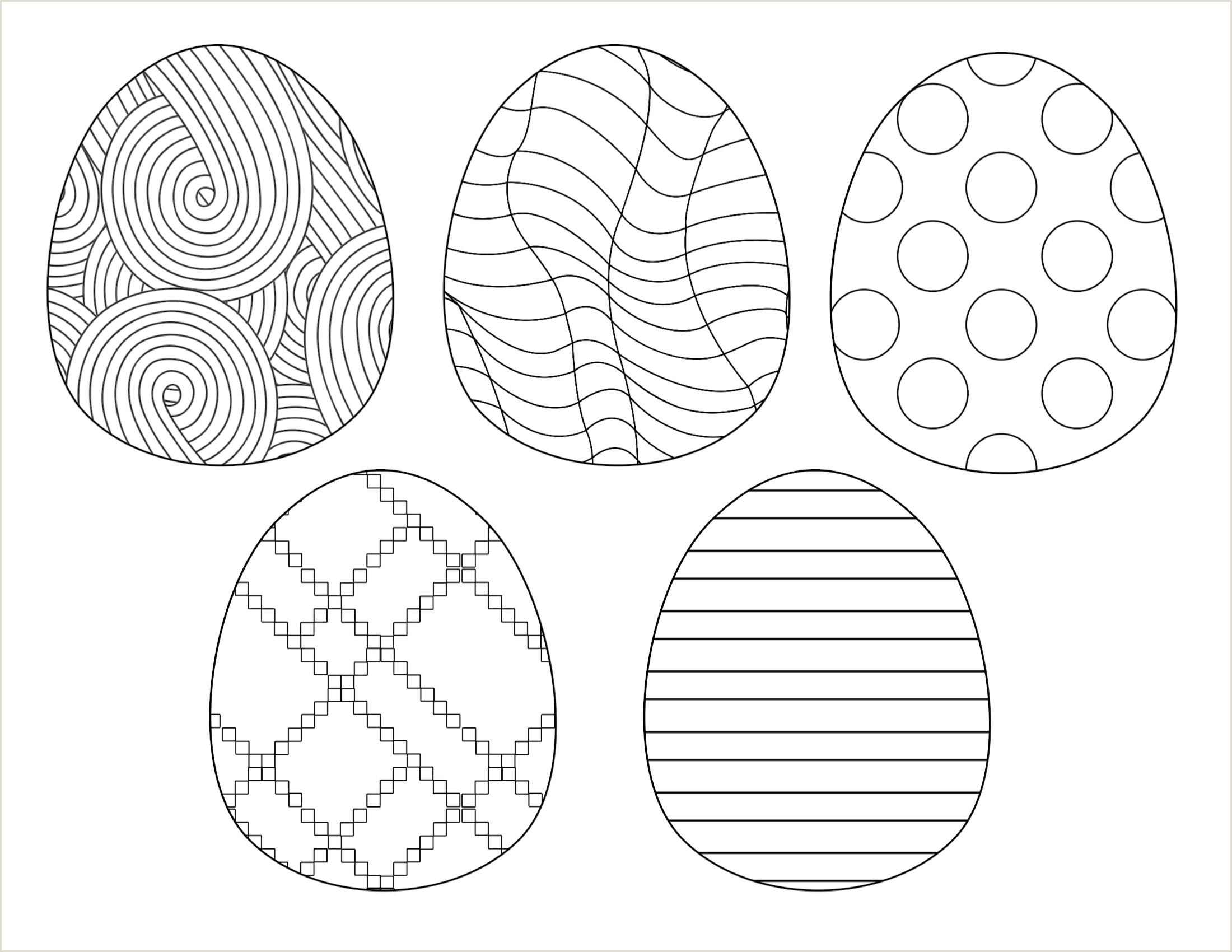 Easter Worksheets for Kindergarten Free