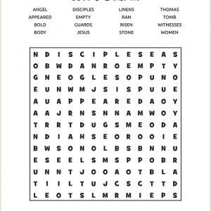Easter Worksheets for Ks2