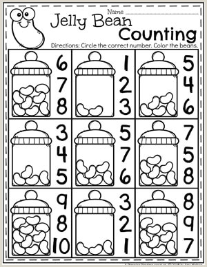Easter Worksheets for Older Students