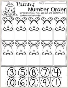 Easter Worksheets Free