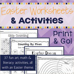 Easter Worksheets Grade 5