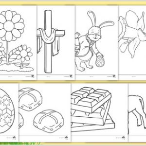 Easter Worksheets In Spanish