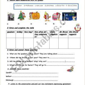 Easter Worksheets Key Stage 1
