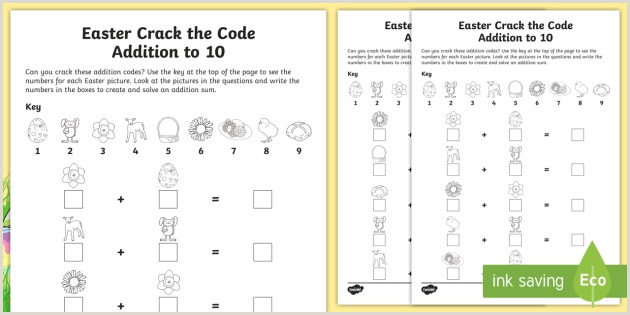 Easter Worksheets Key Stage 1
