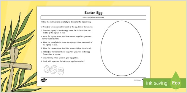 Easter Worksheets Ks1