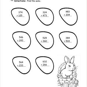 Easter Worksheets Pdf Free