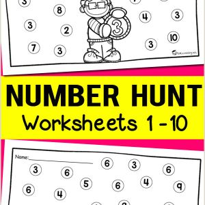 Easter Worksheets Preschool Free