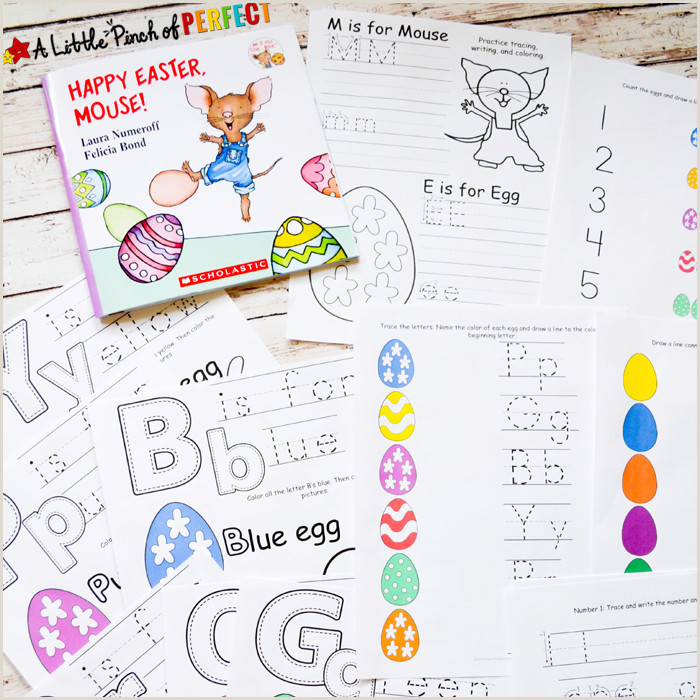 Easter Worksheets Preschool Pdf