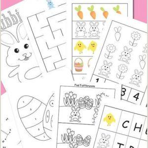 Easter Worksheets Printable Free