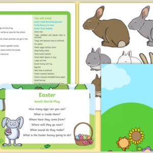 Easter Worksheets Reading
