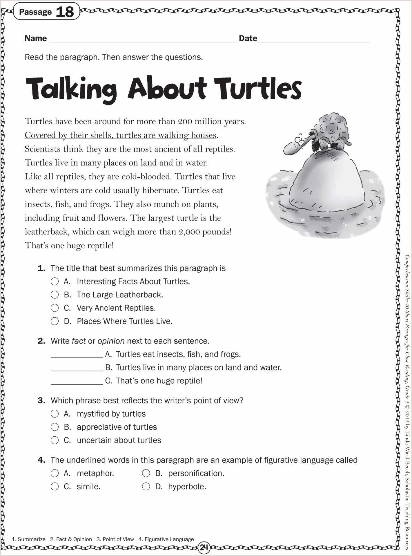Easter Worksheets Second Grade