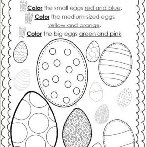 Easter Worksheets Sparklebox