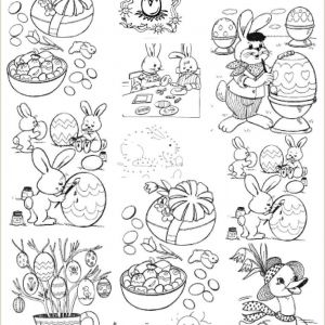 Easter Worksheets Third Grade