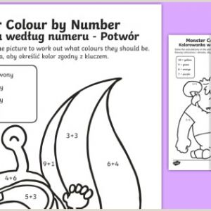 Easter Worksheets to Color