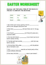 Easter Worksheets Uk