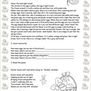 Easter Worksheets Upper Intermediate