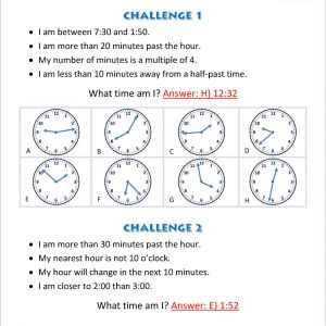 Easter Worksheets Year 4