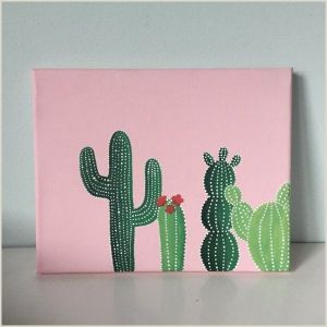 Easy Things to Paint Cactus