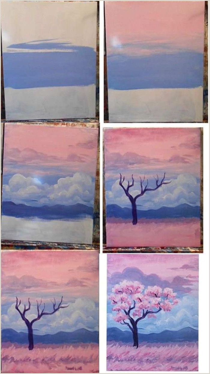 Easy Things To Paint For Beginners Step By Step