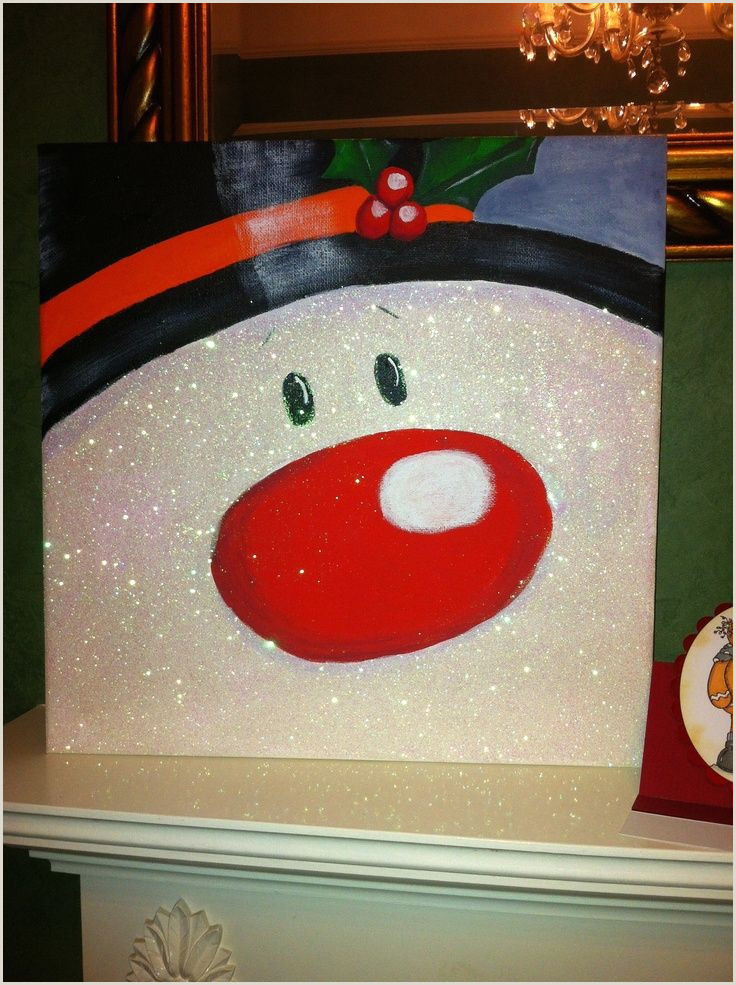 Easy Things To Paint For Christmas