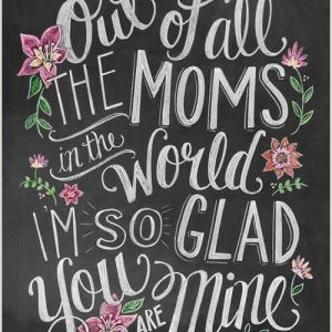 Easy Things to Paint for Your Mom