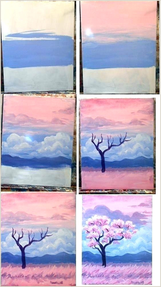 Easy Things To Paint On A Canvas Step By Step