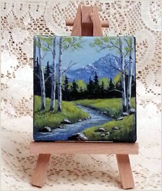 Easy Things To Paint On A Mini Canvas