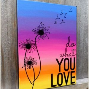 Easy Things to Paint On Canvases