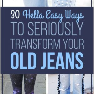 Easy Things to Paint On Jeans