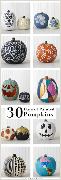 Easy Things to Paint On Pumpkins