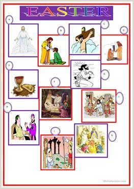 Esl Easter Activities Worksheets