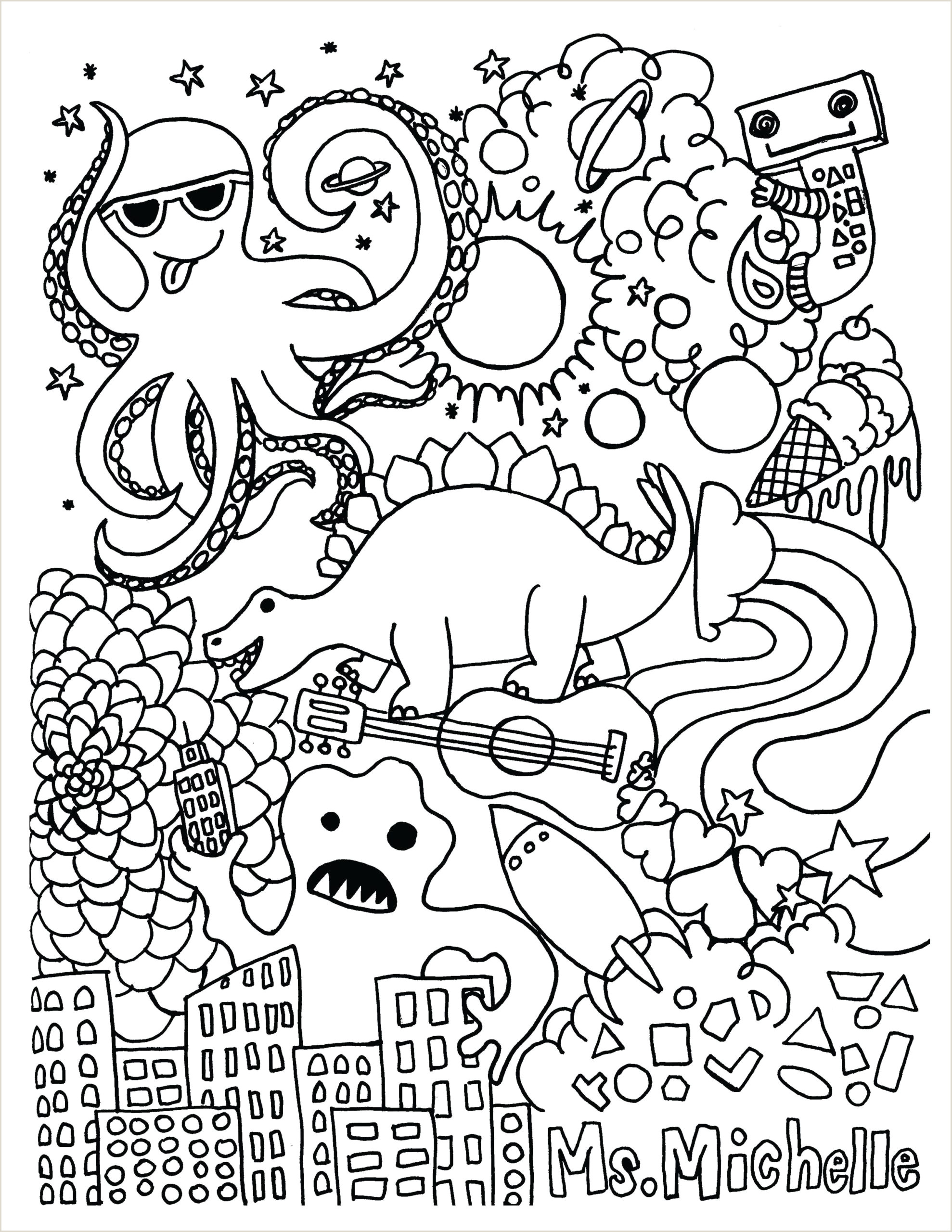 Free Color By Number Coloring Pages To Print