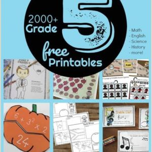 Free Color by Number Halloween Math Worksheets
