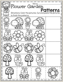 Free Color by Number Printables for Preschoolers