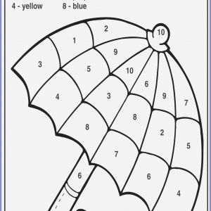 Free Color by Number Worksheets 1st Grade