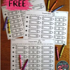 Free Color by Number Worksheets Download