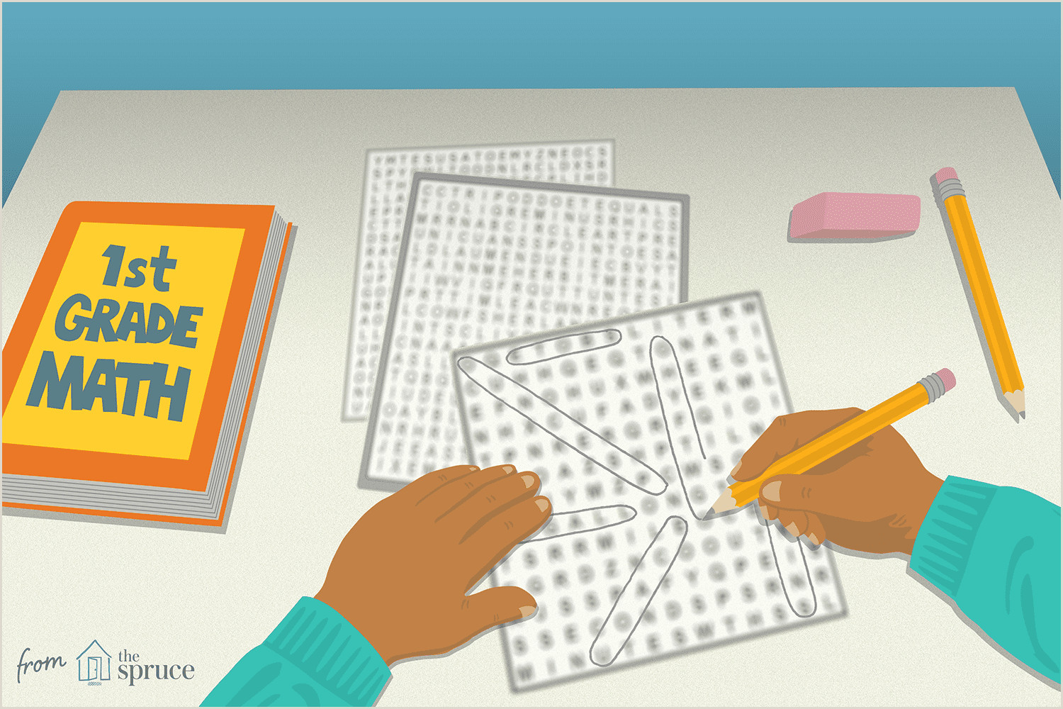Free Color By Number Worksheets For First Grade
